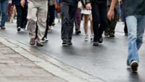 Regular walking helps you lose weight and get fitter