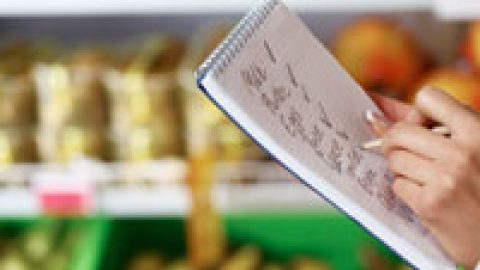 Why the shopping list is a vital aid on the weight loss journey